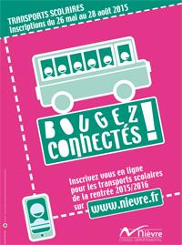 Inscriptions des collégiens aux Transports scolaires 2015/2016