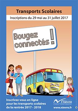 Inscriptions Transports scolaires 2017/2018 du 29 mai au 31 juillet 2017