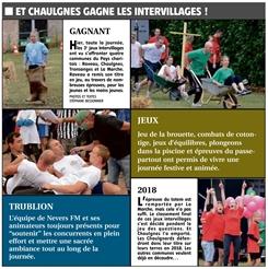 Et Chaulgnes gagne Intervillages 2017 !