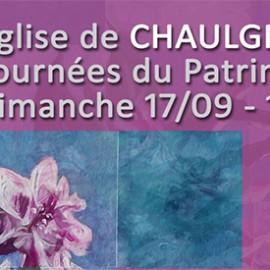 Journées du patrimoine à Chaulgnes