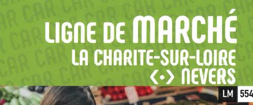 Ligne de marché La Charité sur Loire -> Nevers