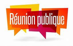 Info réunions publiques