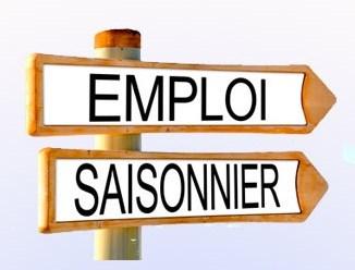 Offre d'emploi saisonnier