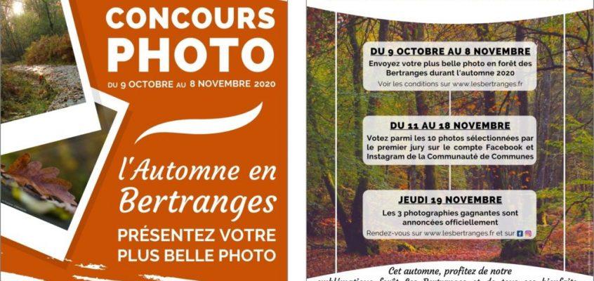CONCOURS PHOTO : L'AUTOMNE EN BERTRANGES