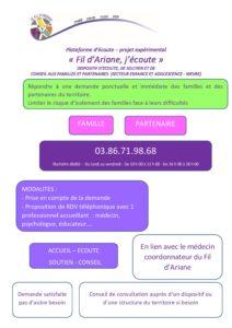 La maison des Adolescents : Association «Le fil d'Ariane».