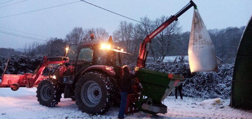 Episode neigeux du 16 Janvier !