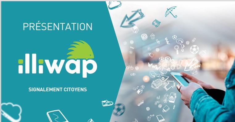 Dès lundi, il y aura du nouveau  sur l'application  Illiwap de nos citoyens !