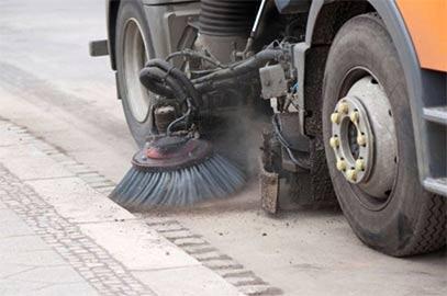 Nettoyage des routes de Chaulgnes
