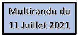 « Multirando » du 11 Juillet 2021