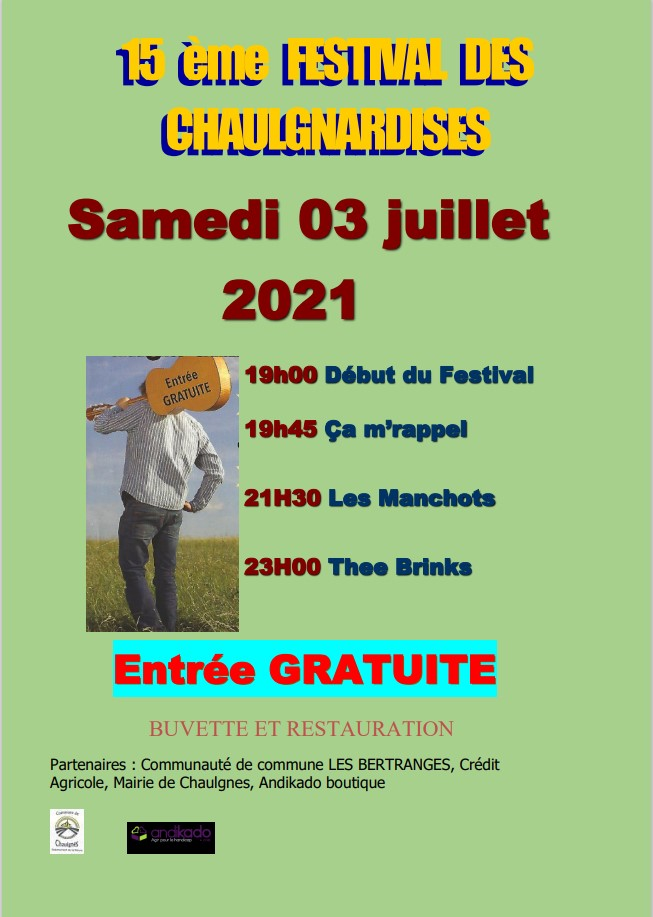 Festival des Chaulgnardises !(annulé)