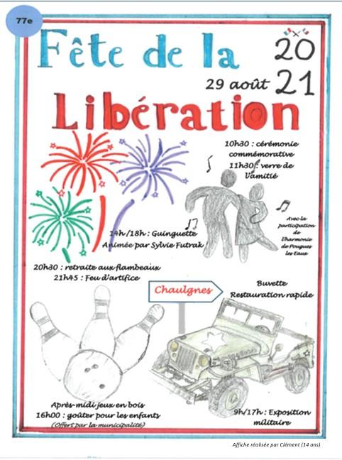 77ème anniversaire de la Libération de Chaulgnes