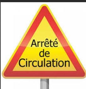 Arrêté de circulation alternée : route de Soury