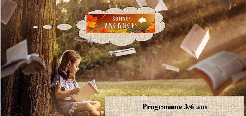 ALSH Vacances d'Octobre :demandez le programme !